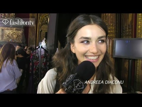 Zuhair Murad Couture Fall 2012 Backstage ft Constance Jablonski | Paris Couture FW | FashionTV