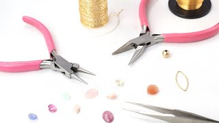 Essential Tools for Beading: Jewelry Making