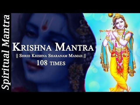 Shree Krishna Sharanam Mamah Dhun 108 times - Peaceful Krishna Mantra ( Full Songs )
