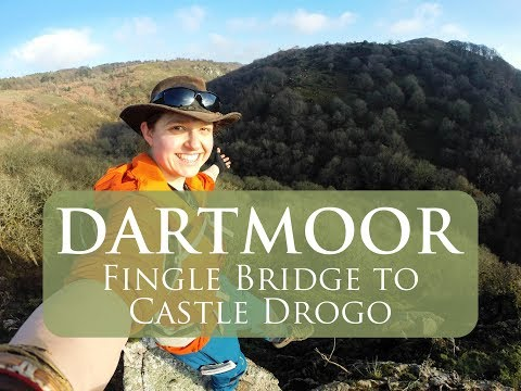 Dartmoor Walks | A walk from Fingle Bridge to Castle Drogo