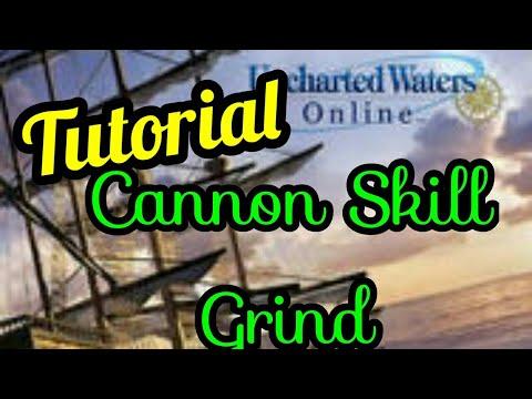 UWO-Tutorial Cannon Skill Grind