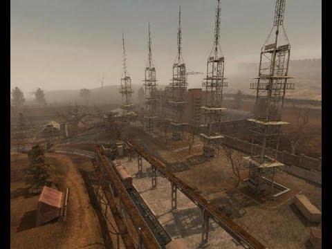 Залез на вышку Радар выжигатель мозгов Сталкер Тень Чернобыля