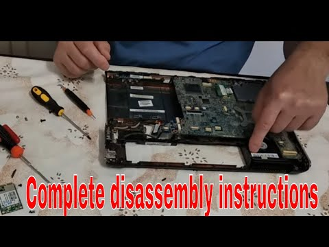 HP Disassembly and Fan Cleaning,  How To Repair -  How To Replace , How To Make, How To Fix Ram