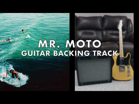 Mr. Moto Surf Guitar Backing Track