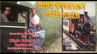 Golden's High Country Railroad - 2 Foot Gauge Construction Shay