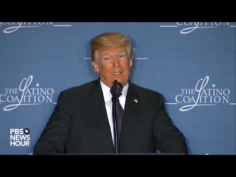 WATCH: President Trump delivers remarks at Latino Coalition