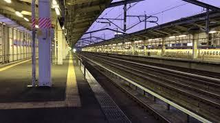 JR福島駅 新幹線 通過