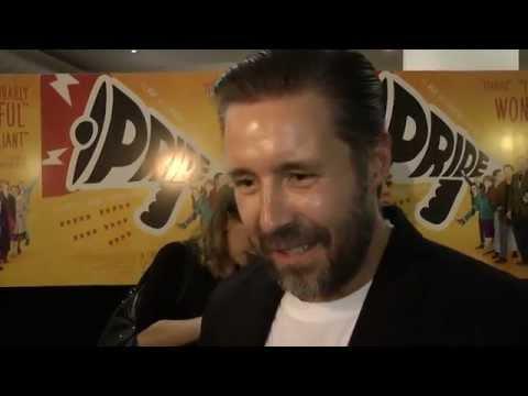 Paddy Considine Interview - Pride Premiere