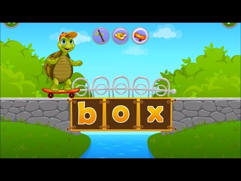 Learn How to Read Word   Reading Game for Kids   Phonic Letter Sound