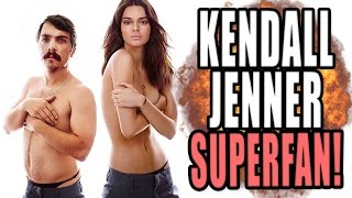 This Kendall Jenner Fan Might Be Obsessed