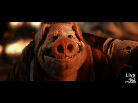 Beyond Good and Evil 2 Trailer and Demo with Joseph Gordon-Levitt - Ubisoft E3 2018 Press Conference