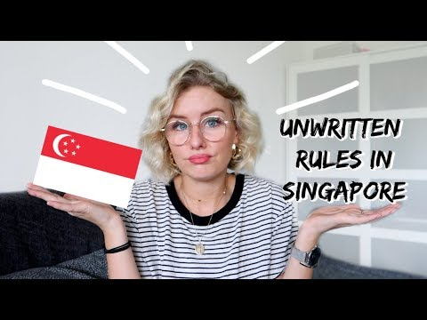 8 UNWRITTEN RULES THAT EXIST IN SINGAPORE!