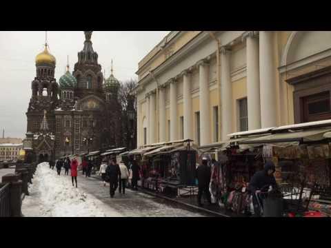 Saint Petersburg Russia Winter 2016