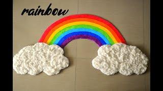 How to make Rainbow | DIY Rainbow Craft | Crafts for kids | Rainbow Craft | Rainbow making ideas