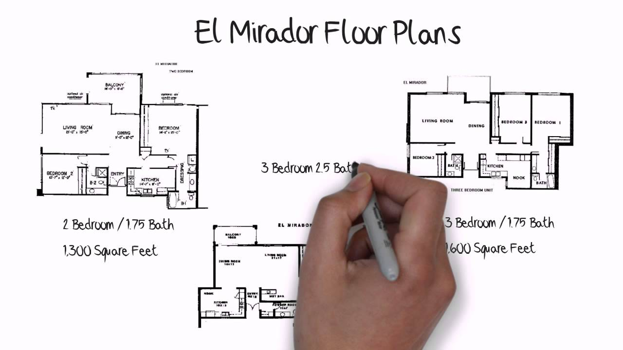 El Mirador Model In Laguna Woods Floor Plan YouTube - Laguna woods village floor plans