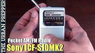 Sony ICF-S10MK2 Pocket AM/FM R…