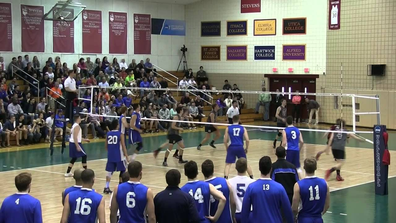 New Paltz Men's Volleyball NCAA Tournament Video - YouTube