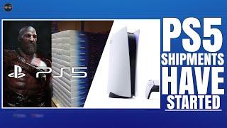 "PLAYSTATION 5 ( PS5 ) - PS5 SHIPMENTS HAVE BEGUN !? / GOD OF WAR 2 PS5 ! / PS5 PRICE ""WE SHOULD..."
