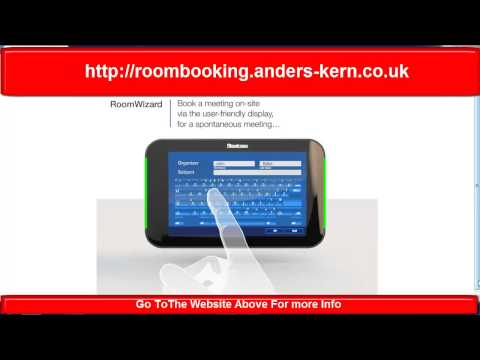 Room Booking Software & Screens