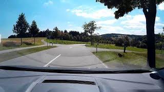 Von Ehrenfriedersdorf nach Geyer mit dem Auto