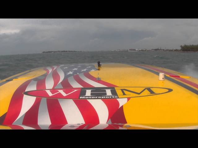 2015 Key West Onboard WHM Offshore Racing Team