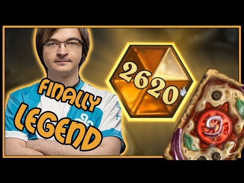 Legend with Mecha'thun Warlock | Rastakhan's Rumble | Hearthstone