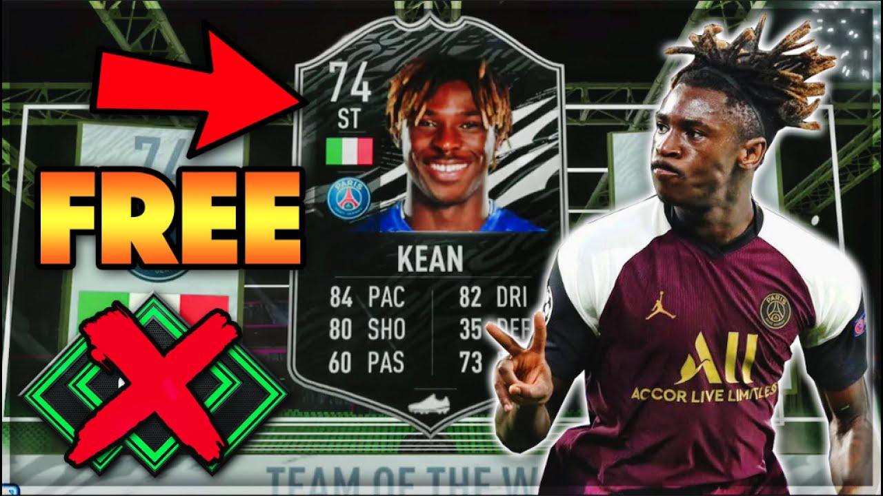 We Got Free Totw Moise Kean Budget Ligue 1 Team No Money Spent Squad Fifa 21 Ultimate Team Youtube