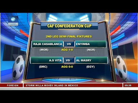 Discussing CAF Confederation Cup Semi Final Fixtures | Sports This Morning |