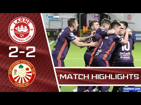 Larne Portadown Goals And Highlights