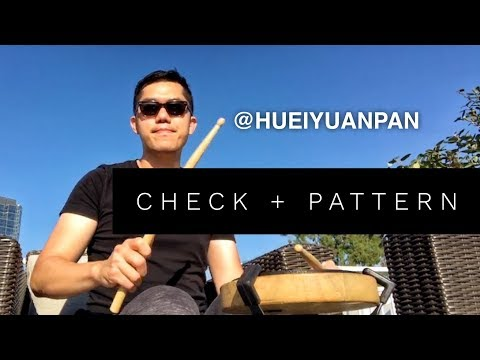 CHECK + PATTERN | Tuesday Tip
