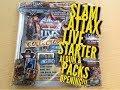 Topps SLAM ATTAX LIVE Starter Album & Packs Opening