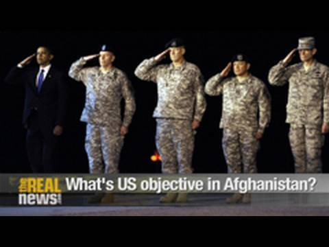 What's US objective in Afghanistan?