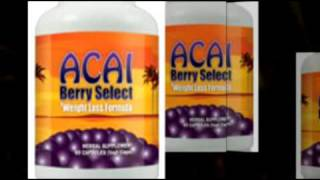 Acai Berry Select- Does Acai Berry Work for Weight Loss