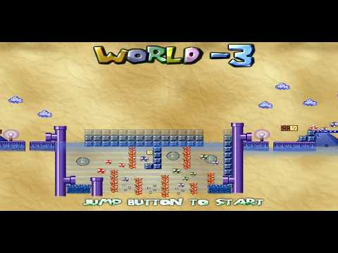 Somario and the revenge of Wazig World 3-Map Theme