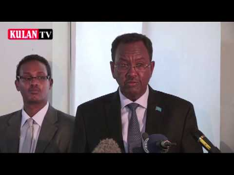UN and Government of Somalia Meeting in Halane Muqidho