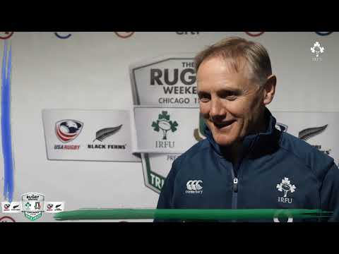 Irish Rugby TV: Joe Schmidt Ireland v Italy Post-Match Reaction