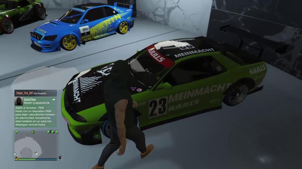 Directo ps4 lo ultimo del gta coches y garajes youtube for Garajes gta v online