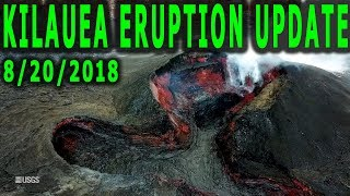 NEWS UPDATE Hawaii Kilauea Volcano Eruption Hurricane Lane 8/20/2018