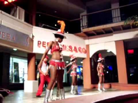 The Showgirls Of Casino Royale In St.Maarten
