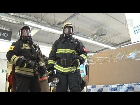Это сегодня учения, а завтра… Отработка действий на случай пожара в ТЦ «W»