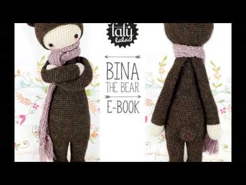BINA the bear • lalylala crochet pattern / amigurumi | Amigurumi ... | 360x480