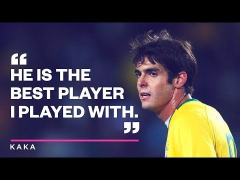 The best player Kaka ever played with - Oh My Goal