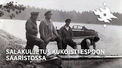 Salakuljetus kukoisti Espoon saaristossa