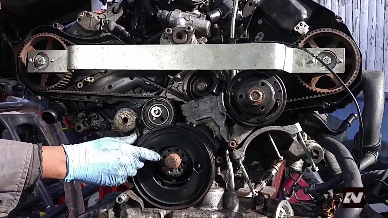 audi 2 7t timing belt b5 s4 c5 allroad and a6 with 2 7t [ 1280 x 720 Pixel ]