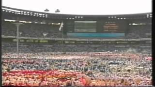 The Opening Ceremony of the Summer Olympics in Seoul 1988 Part 3of5