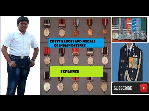Chest Badges And Medals Of Indian Defence -what Do They Represent -explained-must Watch