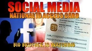 BREAKING!! National ID will be Required to Access SOCIAL MEDIA Accounts!! MUST SHARE!