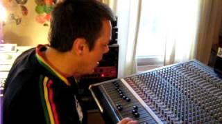 "Dougie Conscious Dubs ""Slave Driver"" at Conscious Sounds Studio - dubplate style"