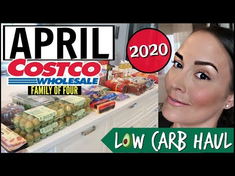 🌈THERE's HOPE🎉 APRIL 2020 Monthly COSTCO Family Grocery Haul Budget Keto Shopping List With Prices