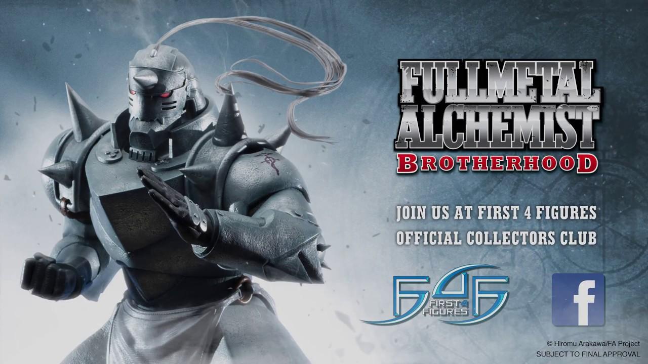 Al Elric fullmetal alchemist brotherhood - alphonse elric statue teaser